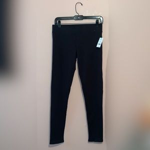 Garage French Terry Black Leggings NWT Size M